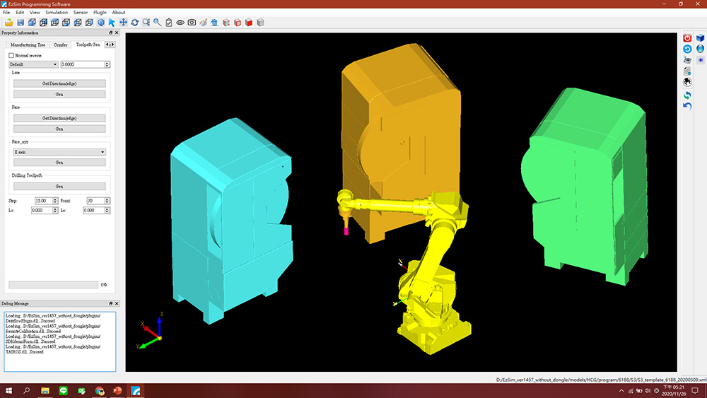 A simulation software called RobotSmith-EzSim incorporates CPS to enhance robotic applications.